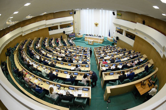 Сенаторам разрешат представлять свои законодательные инициативы в Совфеде