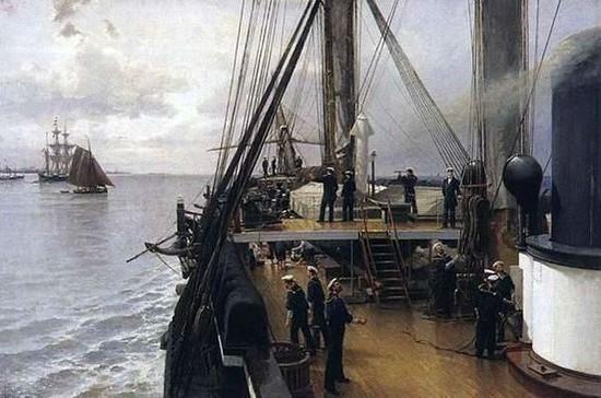 «Метеор» — первый боевой паровой корабль России