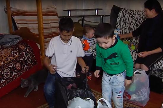 В Рязани проходит благотворительная акция по сбору одежды