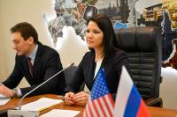 Гостям из Америки и Европы рассказали о гендерном балансе в российском парламенте