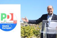 Итальянские демократы представили новую эмблему партии для участия в выборах в Европарламент