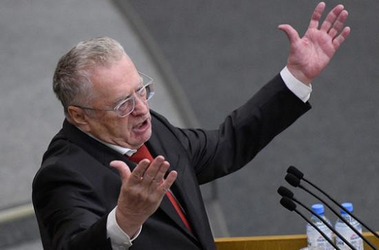 Жириновский предложил премировать россиянок, желающих забеременеть при помощи ЭКО