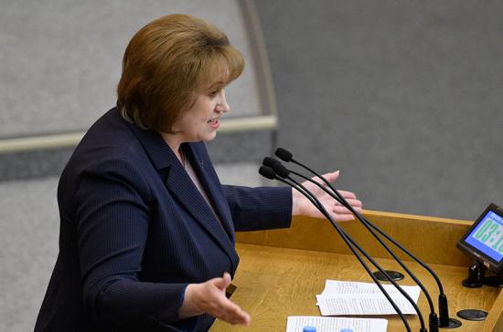 Депутат предложила пригласить в Госдуму всех кураторов нацпроектов