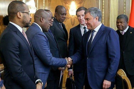 В Анголе могут появиться совместные предприятия с Россией