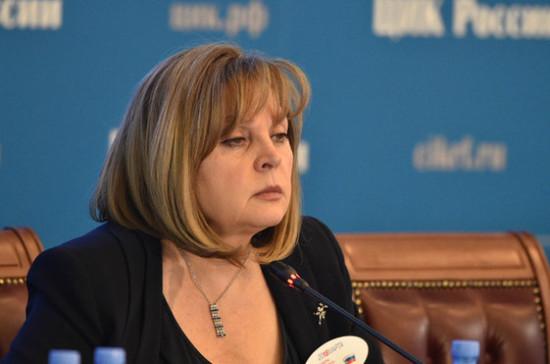 Памфилова рассчитывает на облегчение условий для участия кандидатов в выборах в сентябре