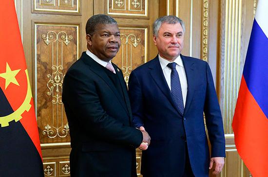 Володин указал на необходимость развития отношений России и Африканского Союза