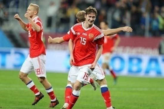 Сборная России поднялась на четыре позиции в рейтинге FIFA