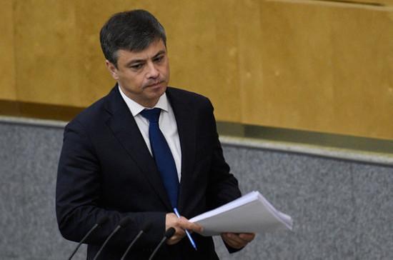 Морозов призвал принять доработанный законопроект о школьной медицине