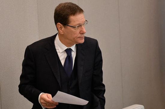 Жуков рассчитывает, что поправки в закон о госзакупках примут до конца апреля