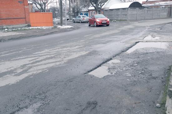 В Липецкой области к маю планируют ликвидировать все дорожные ямы