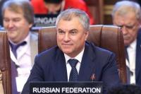 Володин предложил законодателям мира обеспечить цифровой суверенитет своих стран