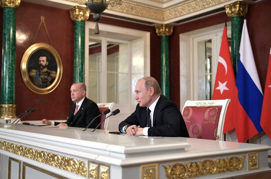 Путин рассказал о разногласиях с Эрдоганом по стоимости газа