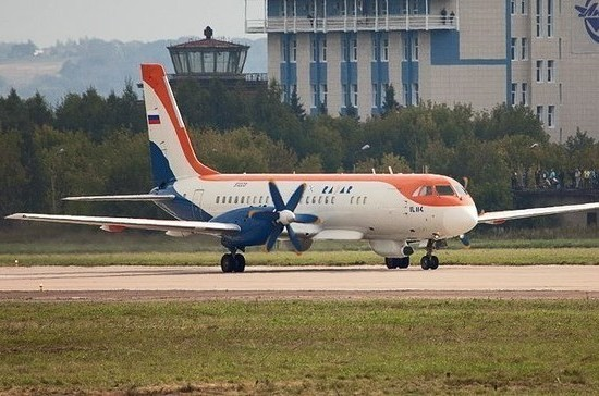 На серийное производство самолёта Ил-114-300 выделят 2,2 млрд рублей