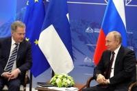 Путин на встрече с Ниинистё отметил развитие отношений России и Финляндии