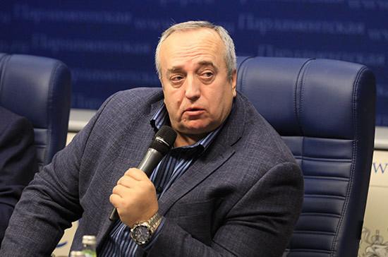 Клинцевич прокомментировал слова Помпео о Голанах и Крыме