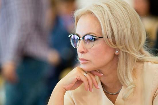 Ковитиди предложила ввести маркировку «Сделано в России» для крымских товаров