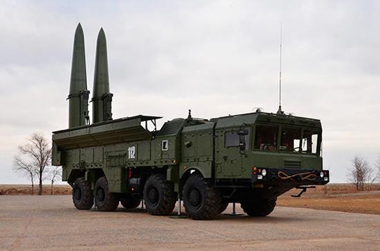 Военные под Астраханью выполнили успешный пуск ракеты комплекса «Искандер-М»