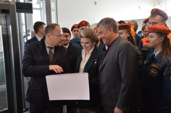 Володин отметил быстрые темпы строительства аэропорта «Гагарин» в Саратове