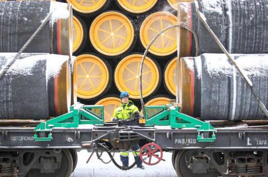 Строительство «Северного потока — 2» продолжается, несмотря на поправки в директиву ЕС