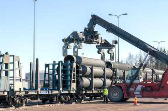Компания Nord Stream 2 подала Дании новую заявку по маршруту газопровода