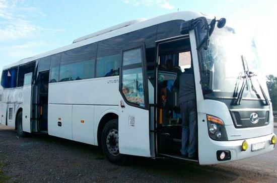 Минтранс предложил провести эксперимент по отслеживанию пассажирских автобусов