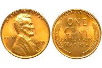 Национальный девиз США впервые напечатали на одноцентовой монете
