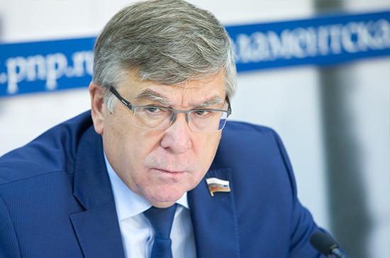 Рязанский рассказал о значении законопроекта о праве полиции доставлять пьяных в спецучреждения