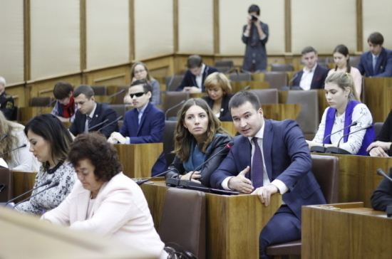 Молодёжный парламент Татарстана отмечает 15-летие