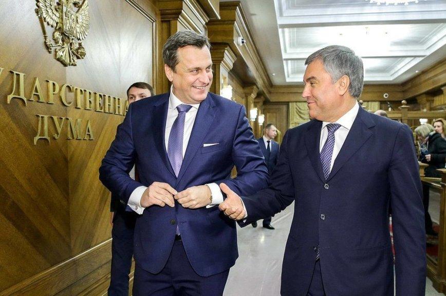 Володин пригласил председателя Нацсовета Словакии на Парад Победы в Москву