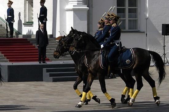7 мая — День Президентского полка