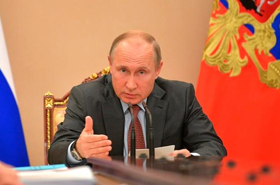 Путин проведёт совещание по нацпроектам 8 мая