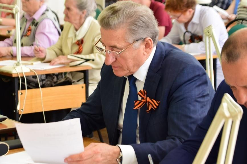 Лукин назвал главную цель «Диктанта Победы»