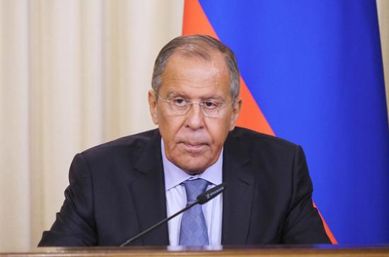 Лавров назвал переговоры с главой МИД Ирана содержательными