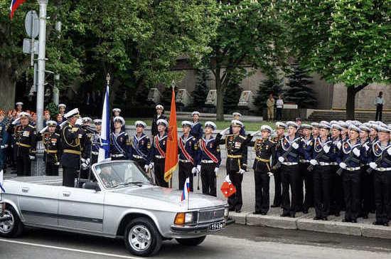Севастополь отмечает юбилей освобождения от фашизма