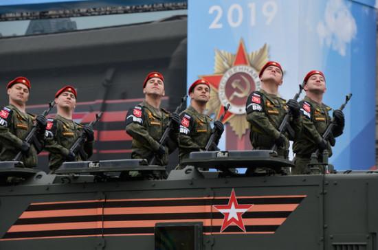 День Победы шагает по стране