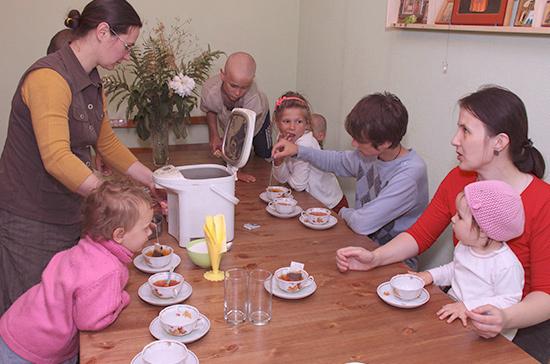 Многодетные семьи предлагается освободить от налога на имущество