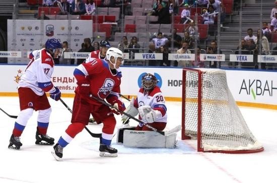 Путин рассказал о пользе «хоккейной дипломатии»