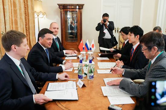 Сотрудничество Подмосковья и Японии позитивно сказывается на развитии территорий, заявил Воробьёв