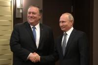 Путин на встрече с Помпео заявил о готовности восстановить отношения с США