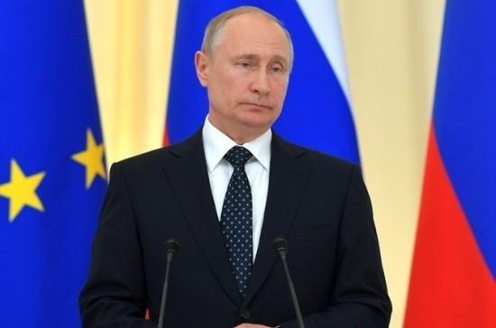 Путин отреагировал на попытки США помешать строительству «Северного потока — 2»