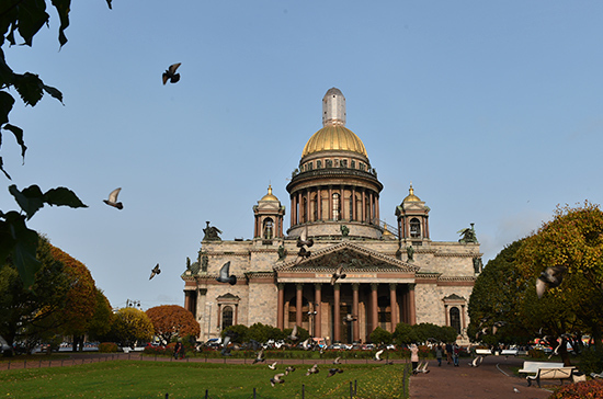 Депутаты Санкт-Петербурга украсят городской парк 25 клёнами по случаю юбилея Заксобрания