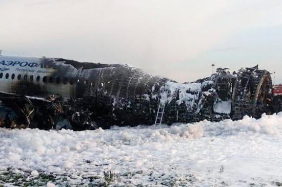 СМИ: одна из версий катастрофы в Шереметьеве — недостатки конструкции SSJ-100