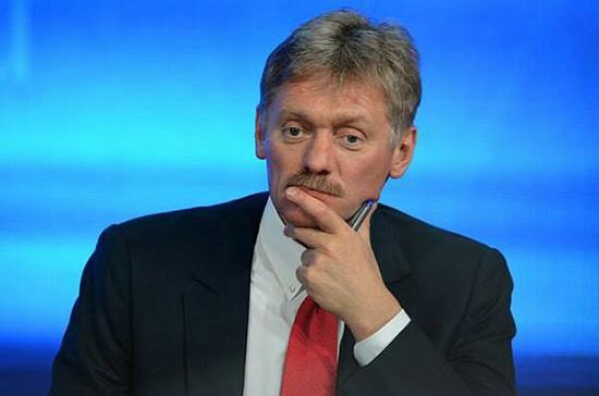 Песков: Москва не получала приглашения на инаугурацию Зеленского