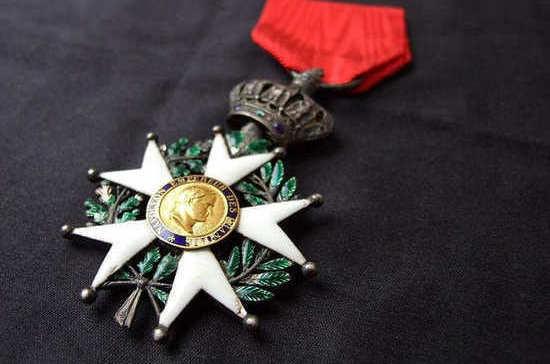 Самая известная награда Франции была утверждена Наполеоном Бонапартом