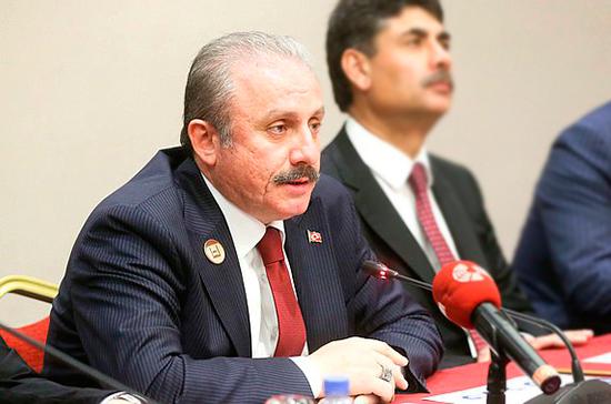 Спикер парламента Турции посетит Россию в 2019 году