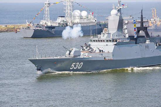 Балтийский флот начал свою историю с победы над шведами