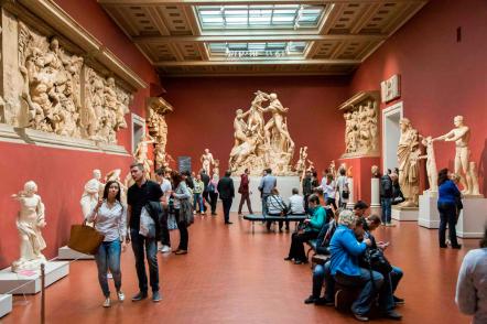 Топ-10 Федеральных музеев по посещаемости