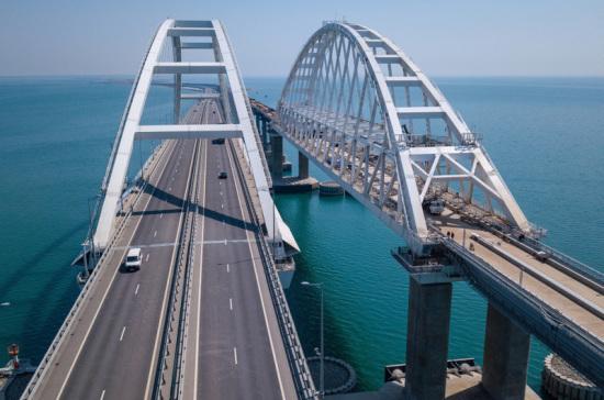 Минтранс выполнит поручение по открытию железнодорожной части Крымского моста раньше срока