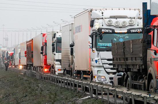 В России летом ограничат движение грузовиков по трассам