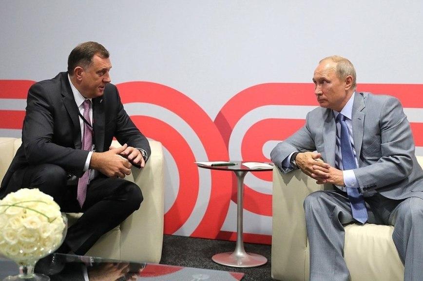 Экс-глава Республики Сербской намерен рассказать Владимиру Путину о положении сербов в Боснии и Герцеговине